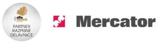 mercator logo + znacka